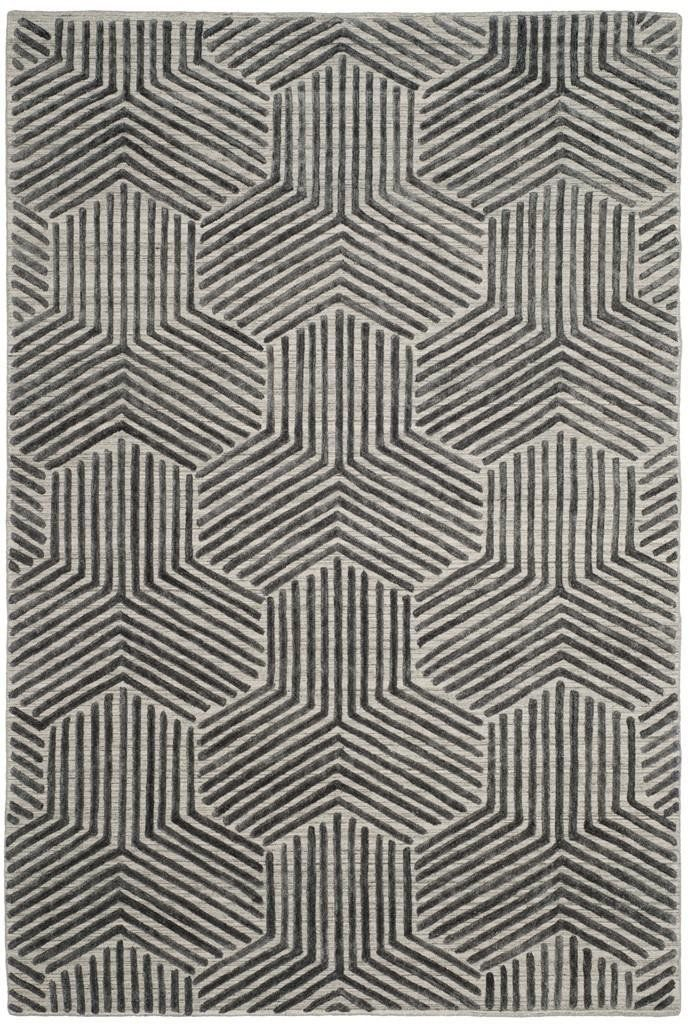 Safavieh Mirage MIR351A Light Grey / Charcoal Rug