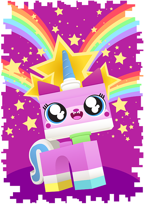 I Think Unikitty Resembles Most Teenage Girls She Is Sweet And Caring Obviously Just Wants To Have Fun When Gets Angry ANGRY