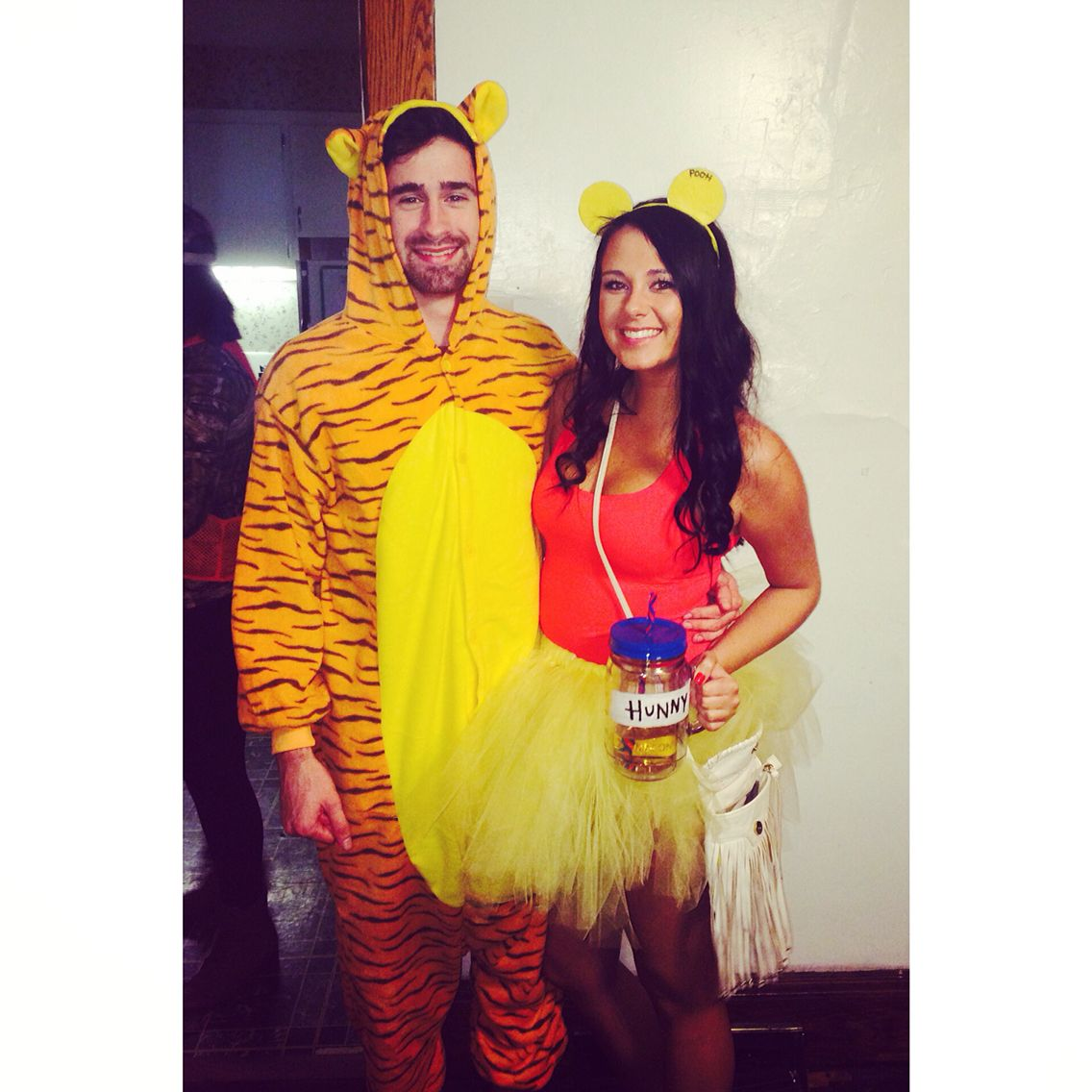 ac34883b1 Winnie the Pooh and Tigger Couple Costume | Holiday ideas | Couple ...