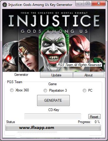 Injustice Gods Among Us Keygen No Survey Free Download Injustice God Team Games