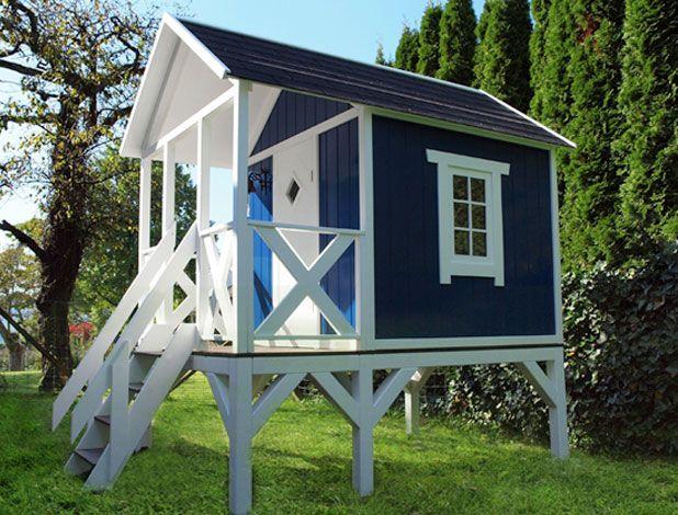 stelzenhaus / holz / schwedenhaus auf stelzen | home & garden,