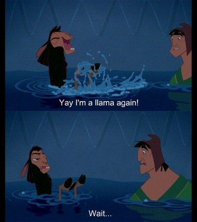 A Nova Onda Do Imperador Best Disney Movies Disney Funny