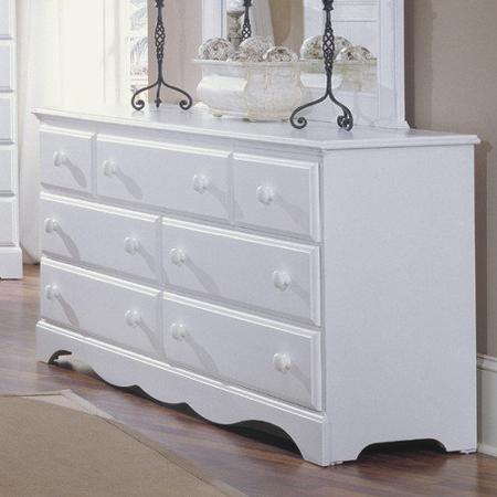 Carolina Furniture Works, Inc. Carolina Cottage 7 Drawer Dresser