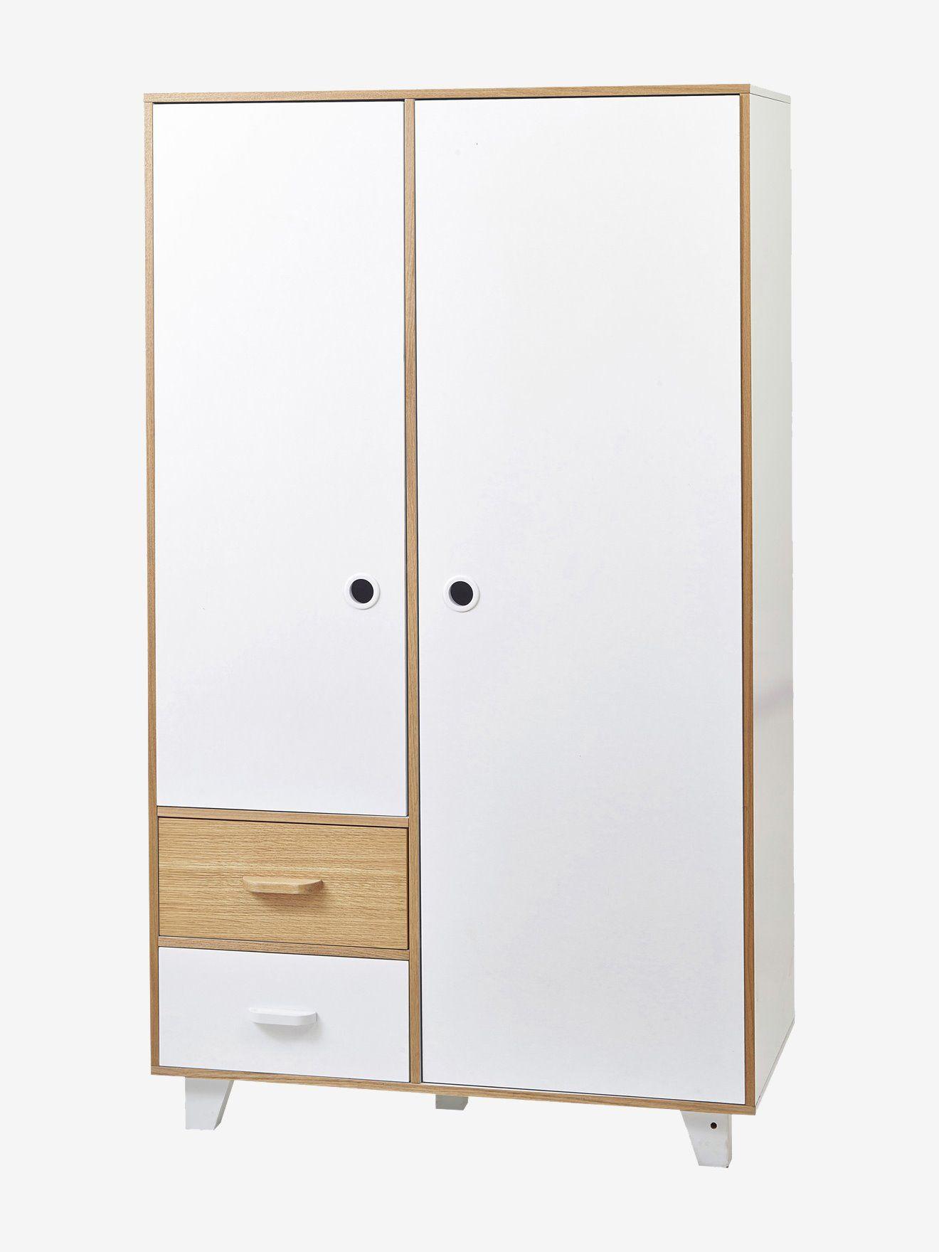 "Vertbaudet Kinder Kleiderschrank, 2 Türen ""Hopla"" in"
