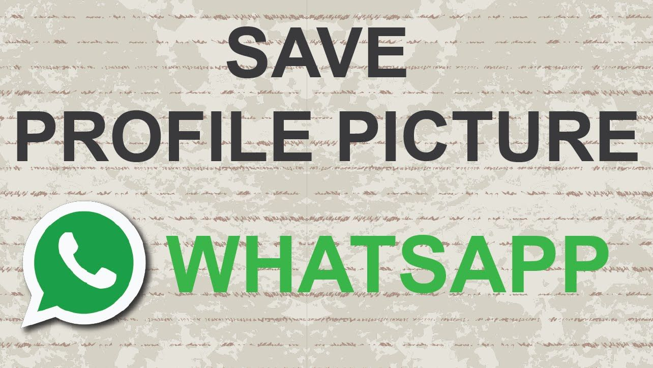 How to save / download whatsapp profile picture #whatsapp #video.