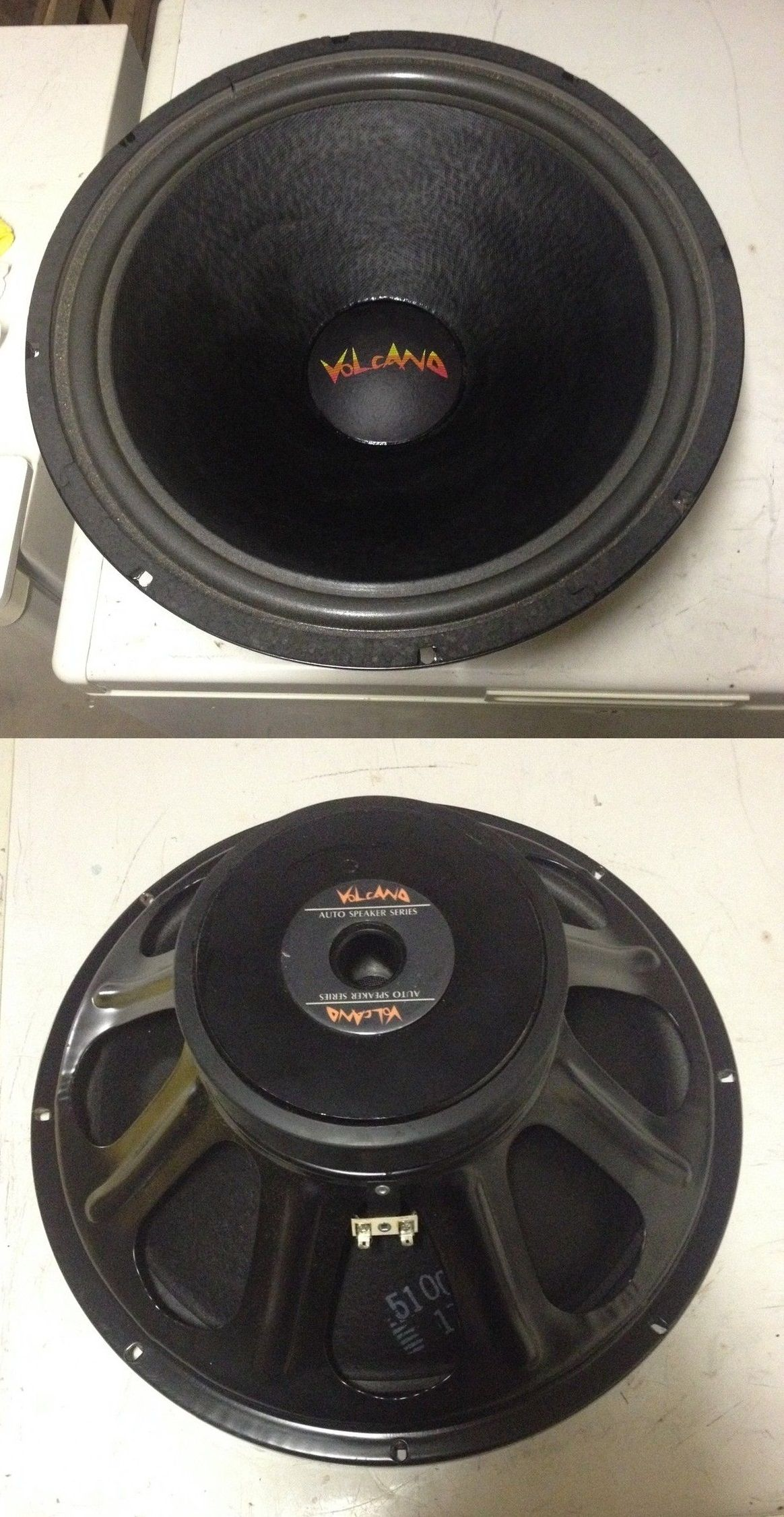 Volcano 15s200g 15 Inch Subwoofer Made In Kentucky Usa Car Audio Stereo Kit 800w Sub 500w 2 Channel Amplifier Capacitor Wiring