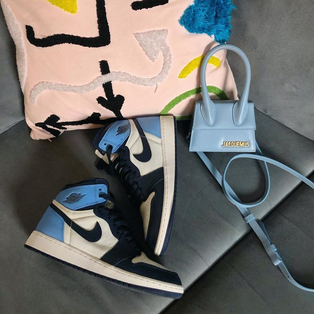 Air Jordan 1 Retro High OG Obsidian UNC 2019 | Sneakers