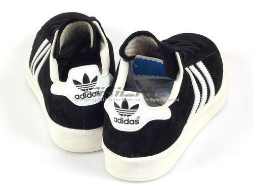 6ed9ae460ad95 Adidas-Originals-Campus-80s-Black-White-Legacy-Suede-Casual-Shoes-Unisex -G63306