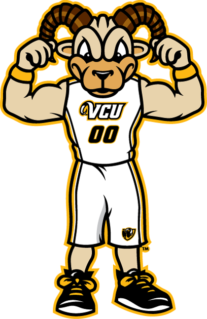 virginia commonwealth rams mascot logo rodney the ram new sports