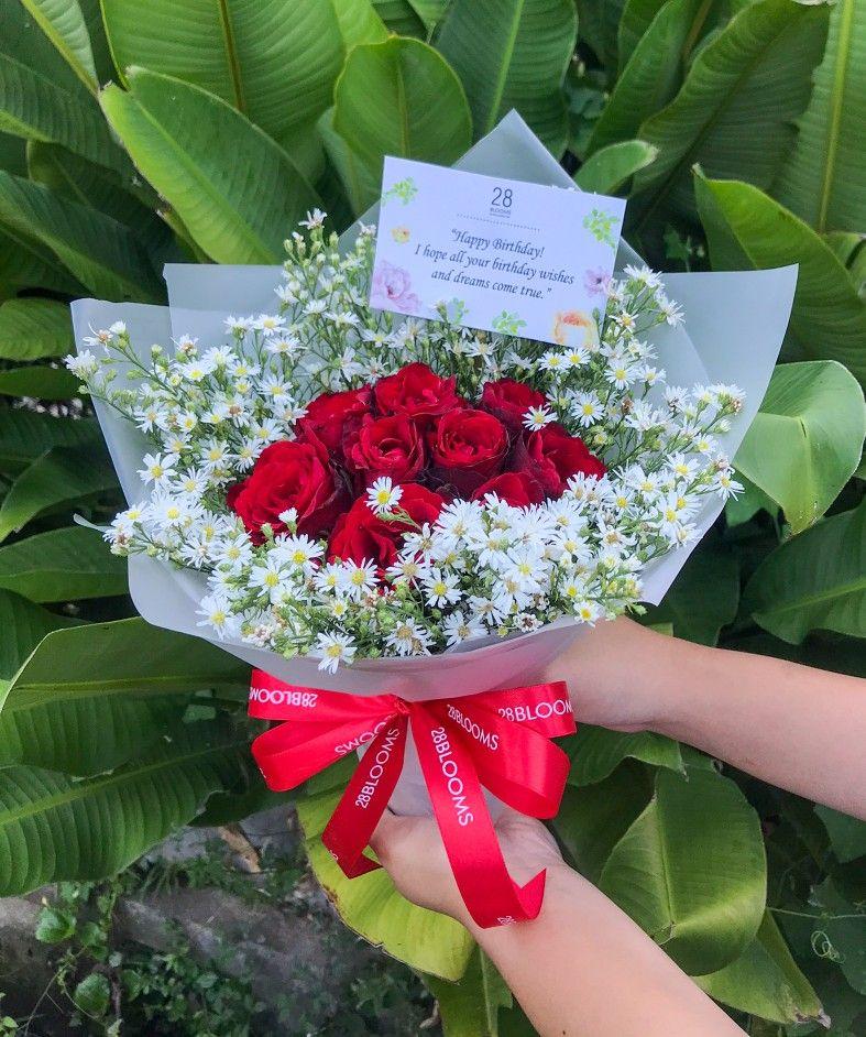 Special Flowers For Mr Qaan S Surprise Gift Danau Buyan Raya No 12 Taman Griya Jimbaran Bunga Mawar Bali