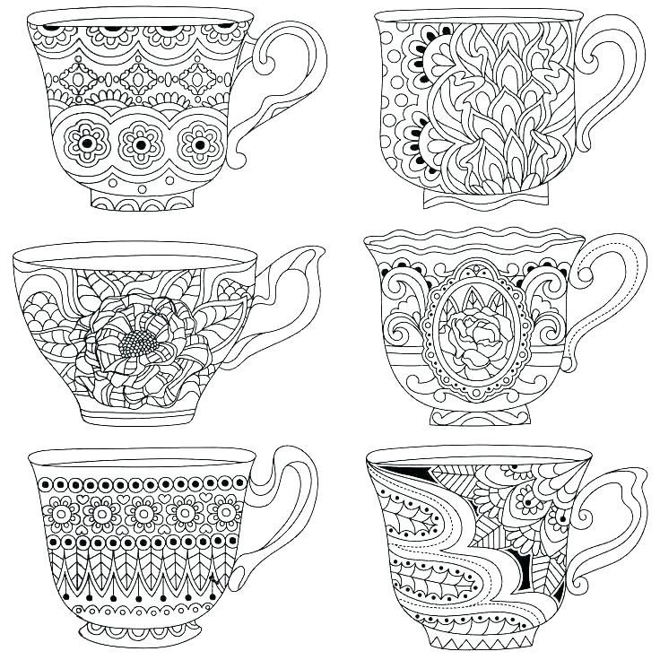 11 Printable Teacup Pages Ideas Coloring Pages Coloring Pages For Kids Dog Coloring Page