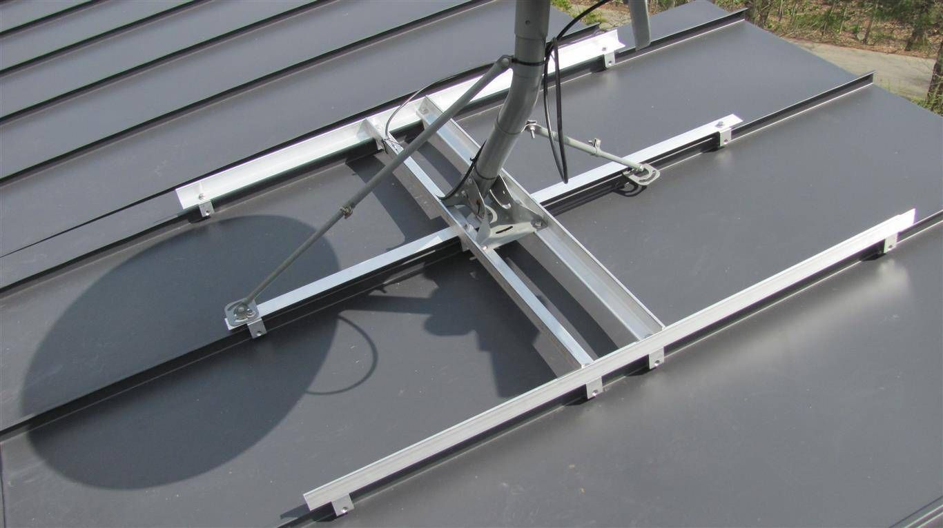 Satellite Dish Roof Google Search Roofing Equipment Construction Diy Metal Roof