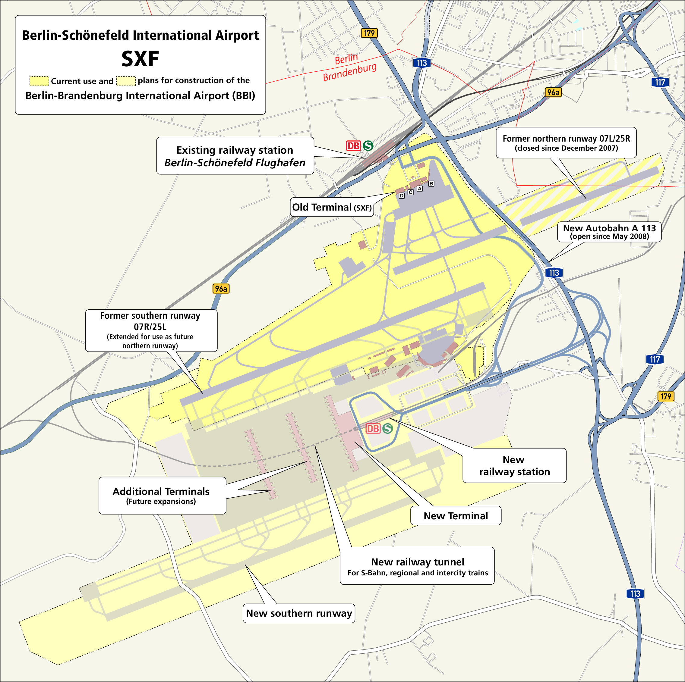 Berlin Schoenefeld Airport Map Pinterest
