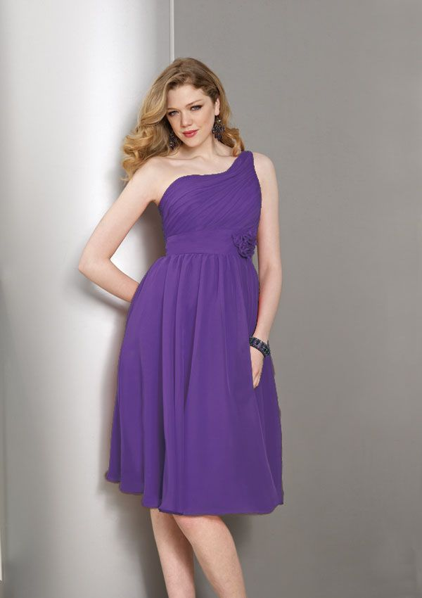 Mori Lee Affairs 854 Bridesmaid Dress - Fabric: Chiffon - Single ...