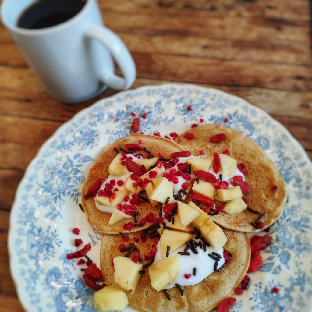 3 Recettes de pancakes healthy en 2020 | Recette pancakes, Grignotine, Recette