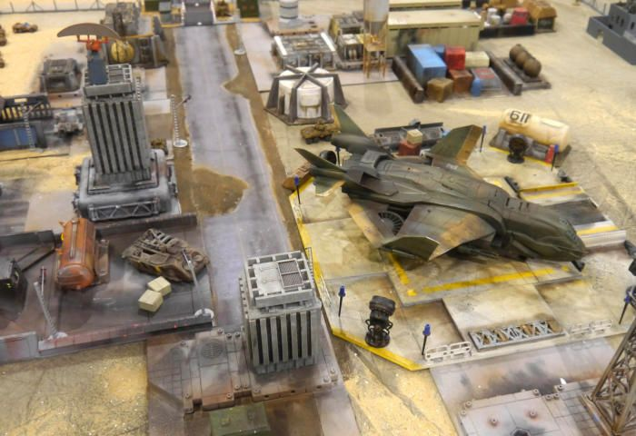 Downtown In 15mm Sci Fi City Sci Fi Miniatures Sci Fi City Tabletop Terrain