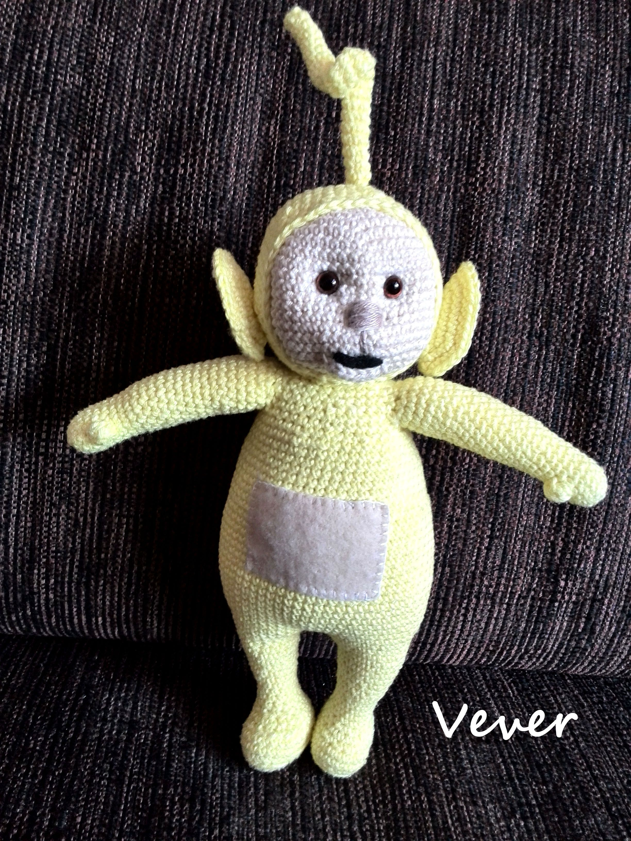 Teletubbies Knitting Pattern : my craft, amigurumi, teletubbies, laa laa, crochet Crafts for kids Pinter...