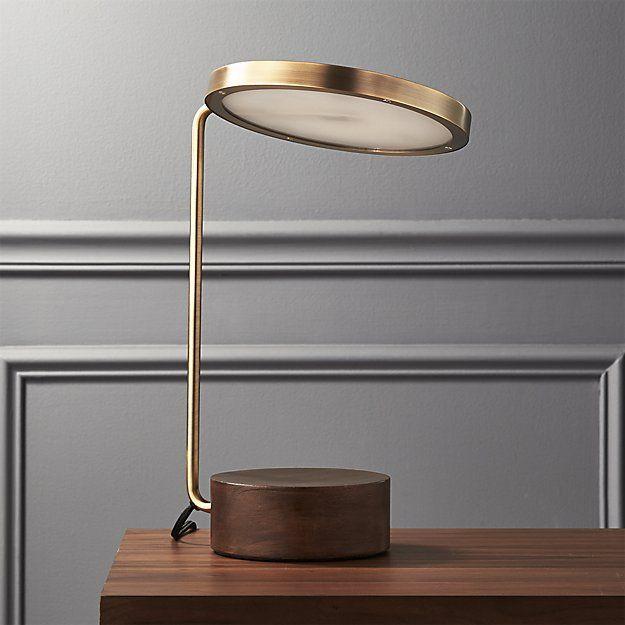 Best Tate Led Usb Table Lamp Cb2 Woodenlamp Table Lamp 400 x 300