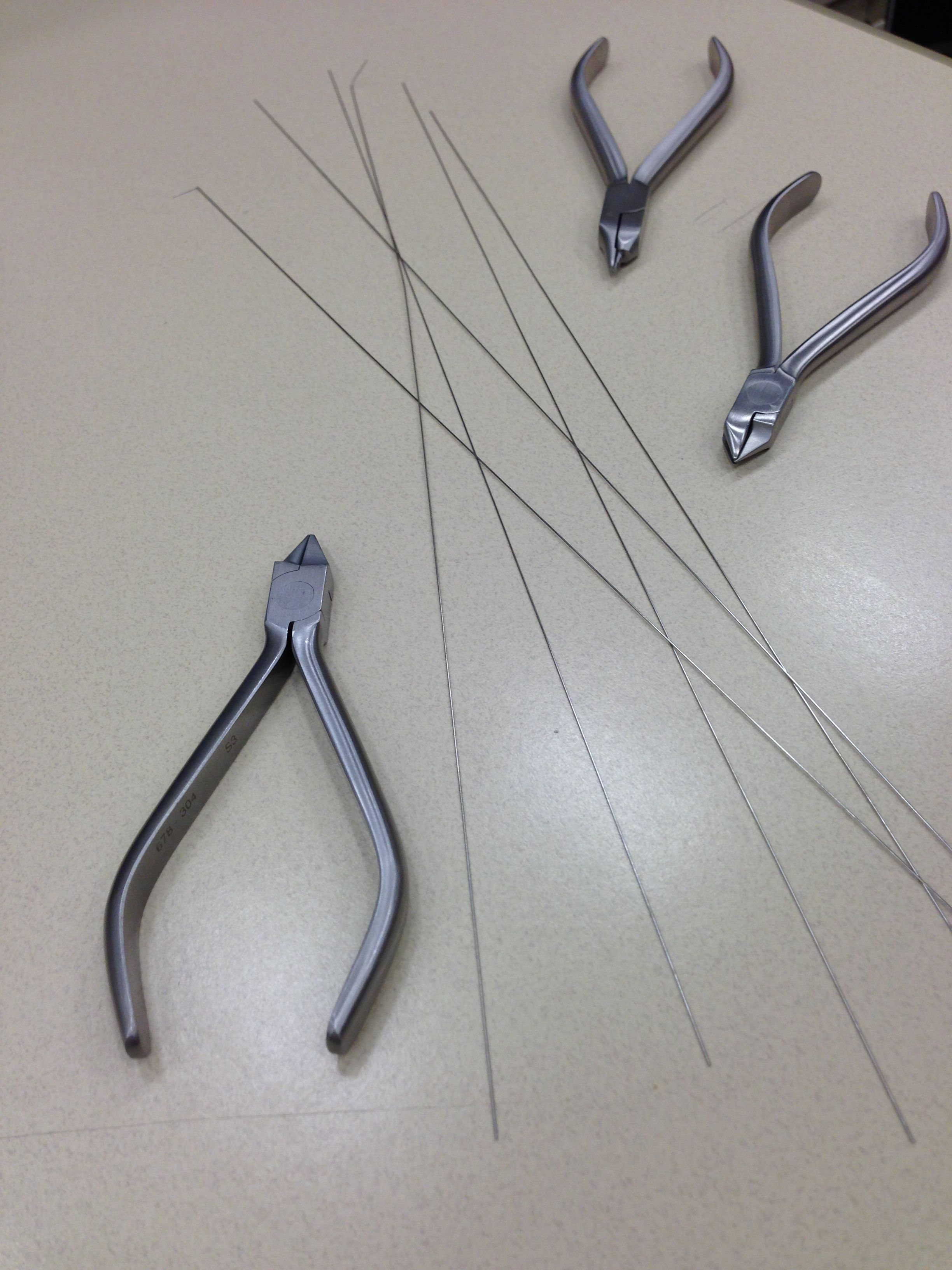 What can you make from wire and pliers besides braces? Show us in ...