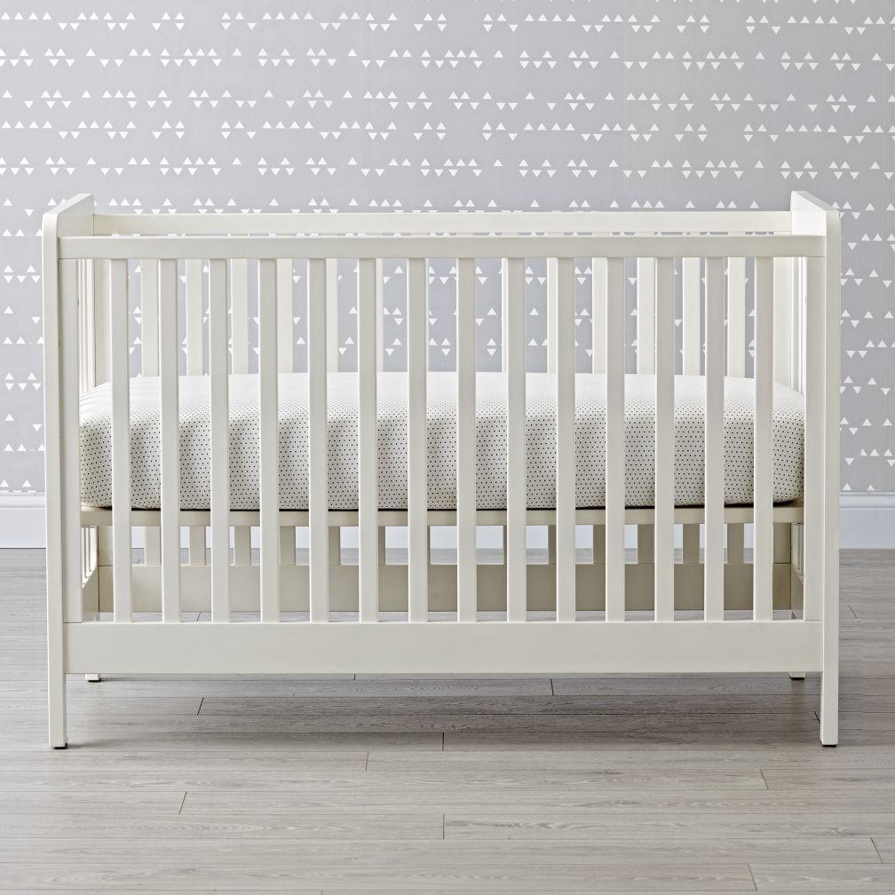 Carousel Crib White The Land Of Nod Cribs White Baby Cribs White Crib