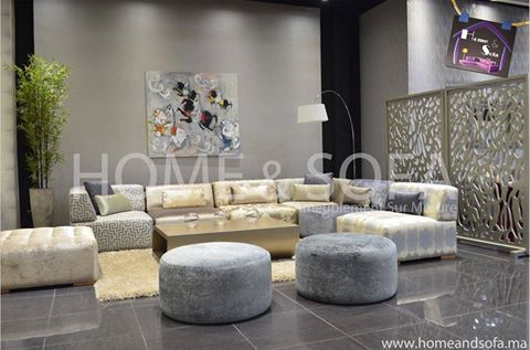 Salon Home and Sofa | salon | Salon maroc, Salon marocain et Salon ...