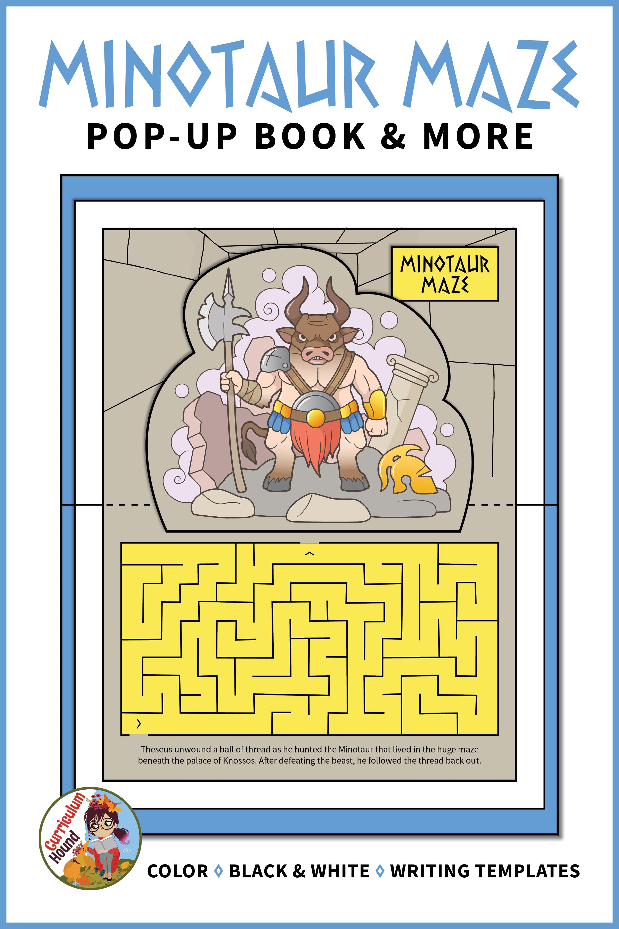 Minotaur Maze Pop Up Book