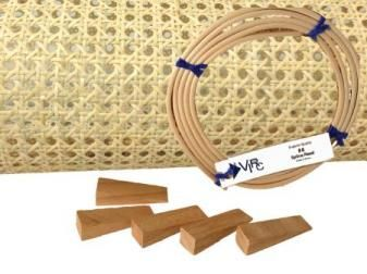 24x24 Cane Webbing Kit 1/2 in #potatowedgesselbermachen