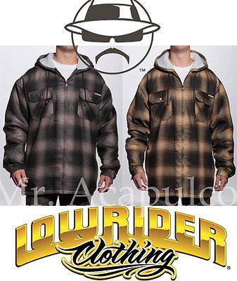 28f1e564d16d Lowrider Sherpa hoodie jacket Shirt Old School Hustler Classic Cholo Culture