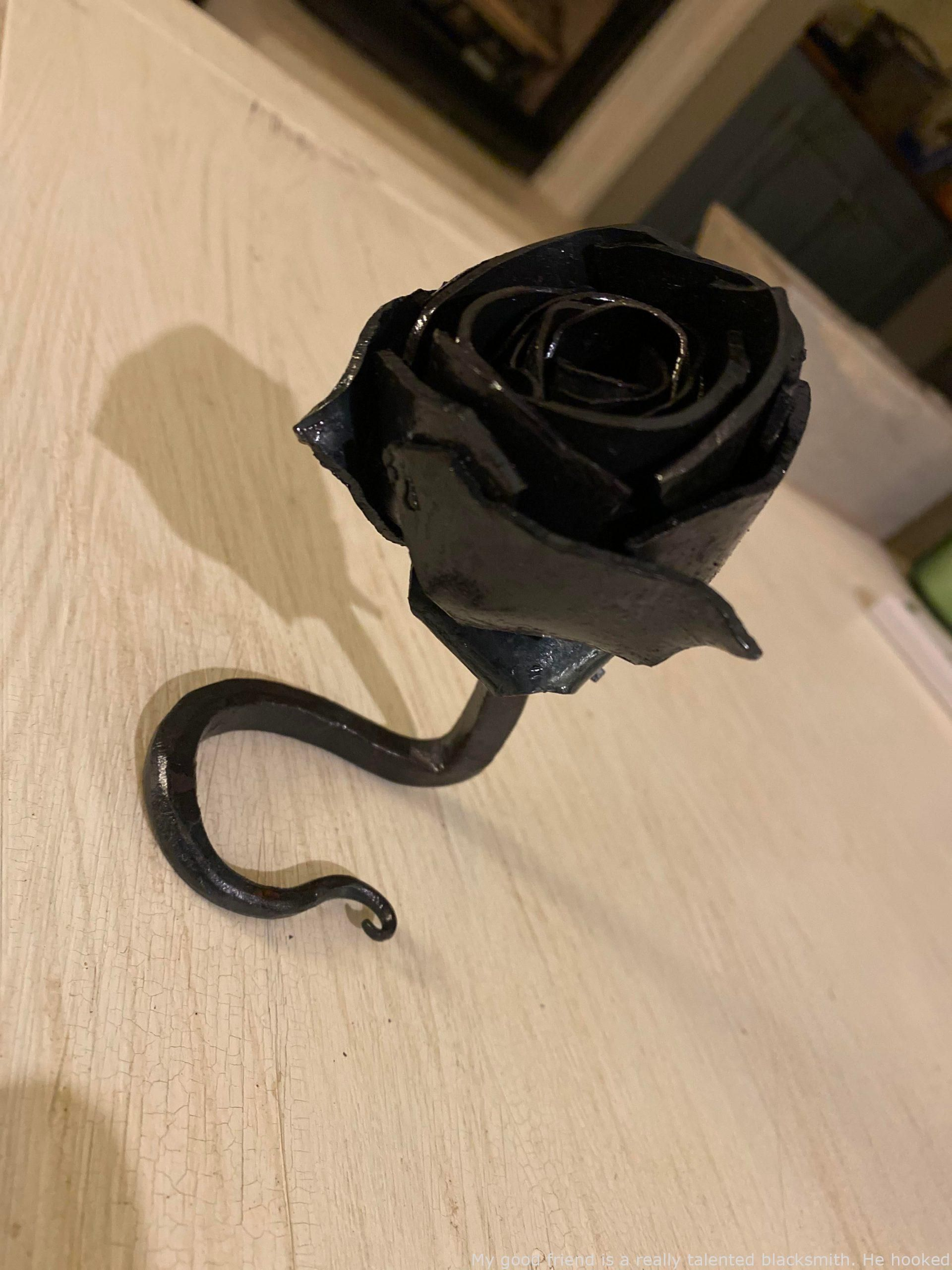 Amazing My Buddy Is A Really Talented Blacksmith He Hooked Me Up To Get My Woman A Valentines Day Existi In 2020 Valentines Day Presents Valentines My Best Friend