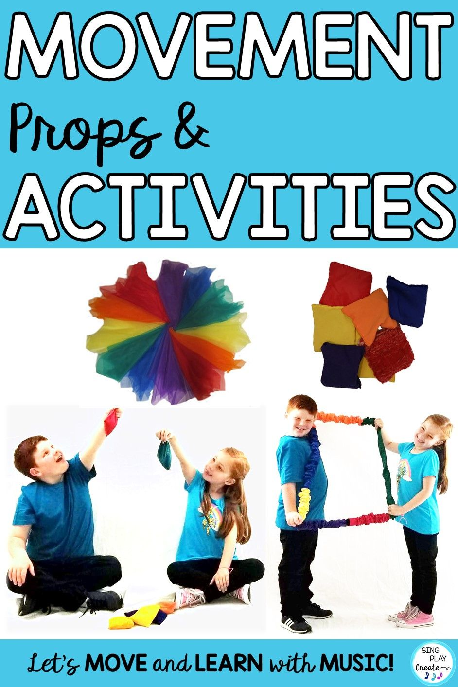 Movement Props And Activities For Music Class Sing Play