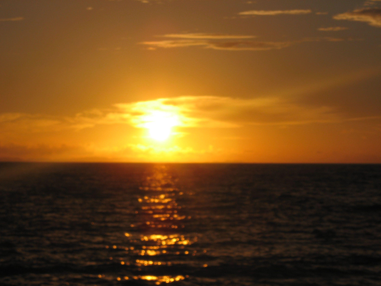 Sunset beach Okinawa, Japan 2010