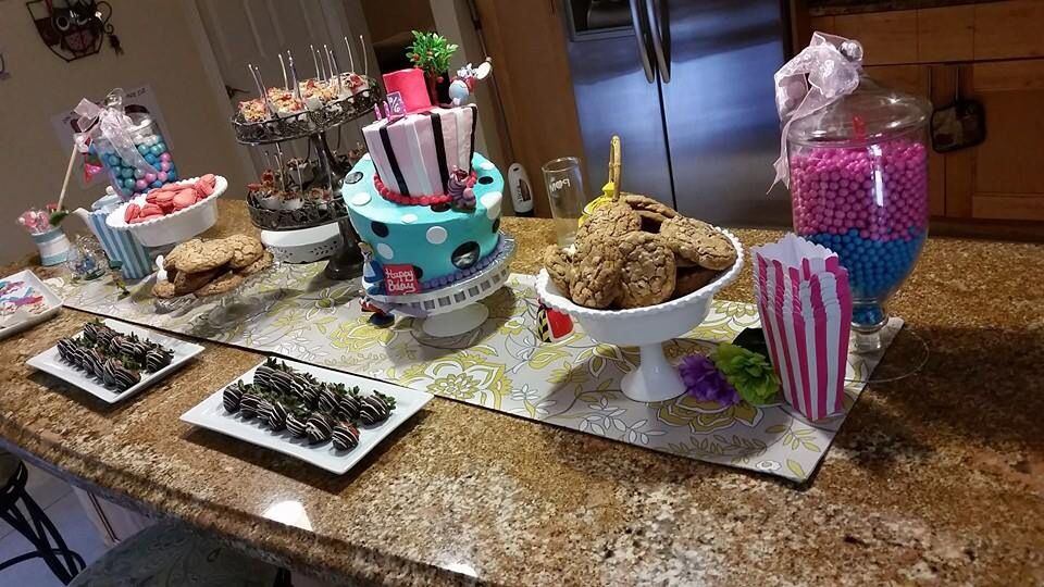 Dessert tables by sweet eacapes