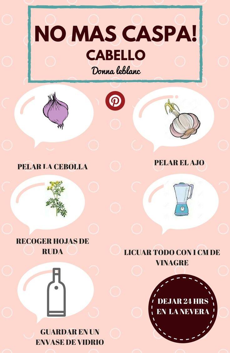 remedios caseros para el pelo graso con caspa