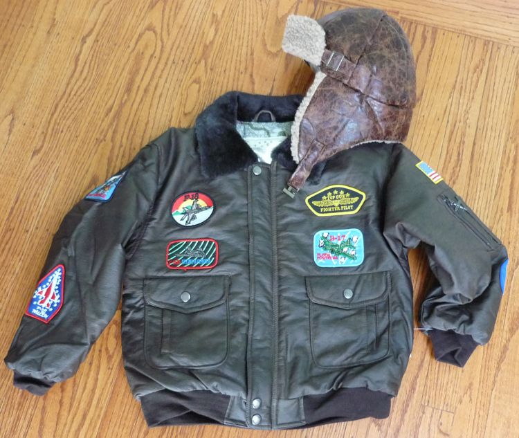 Childu0027s Aviator Jacket u0026 Flying Helmet & Childu0027s Aviator Jacket u0026 Flying Helmet | Halloween costumes ...