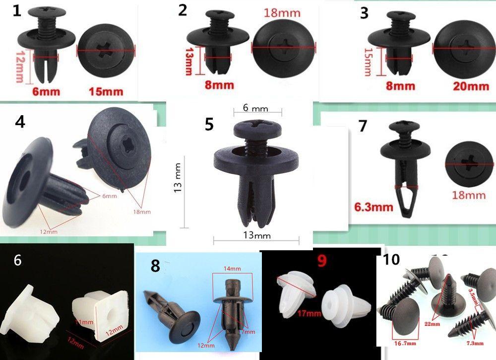 100 st cke auto t r sto f ngerabdeckung automotive. Black Bedroom Furniture Sets. Home Design Ideas
