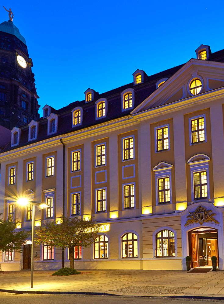 Located In The Historic Centre Of Dresden 5 Star Boutique Hotel Forms Part