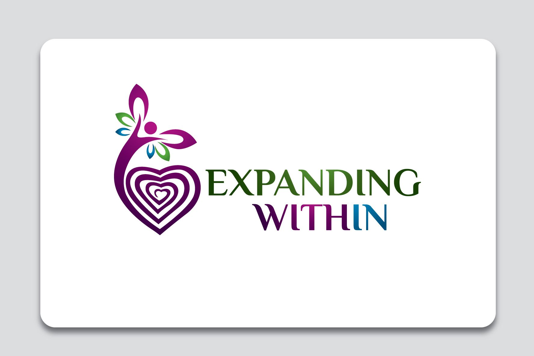Logo for empowering individuals to seek within that which