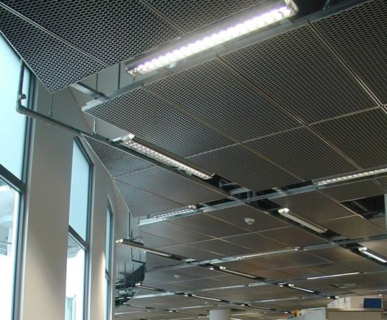Lindners Expanded Metal Ceilings Are Available With A Wide
