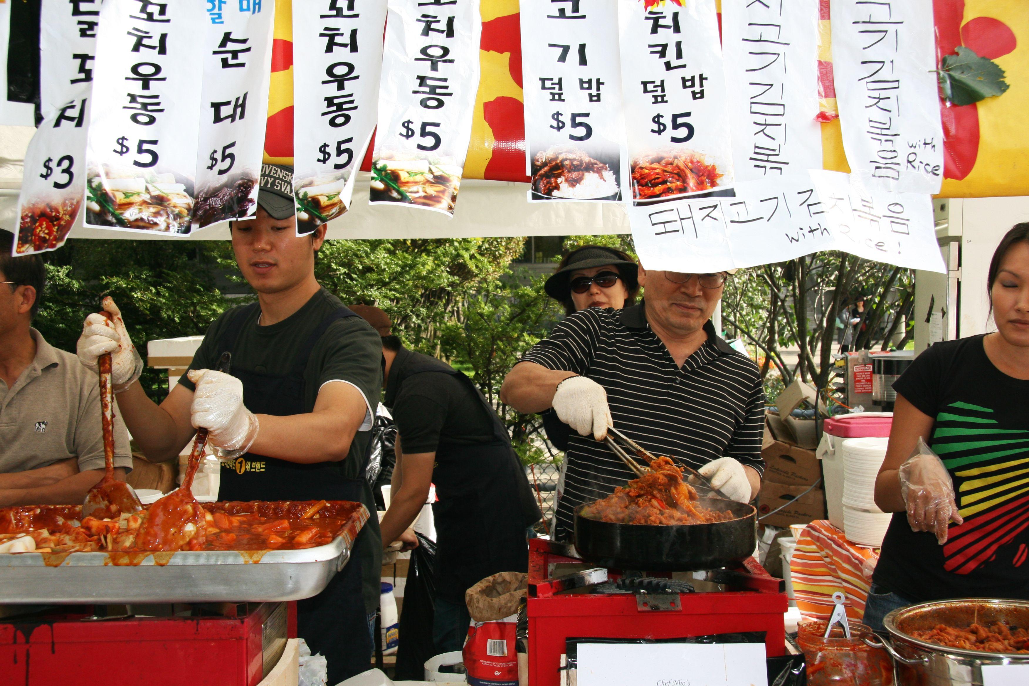 Korean Festival, Toronto Food, Festival, Comidas