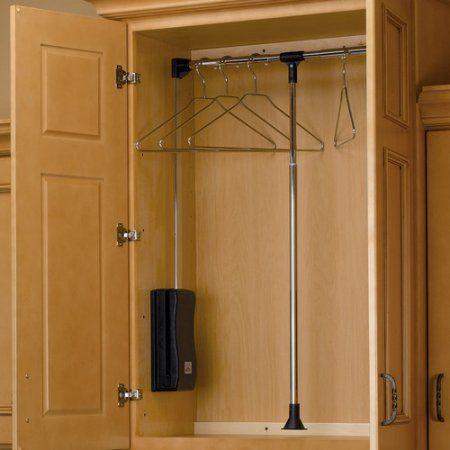 Closet Rods Walmart Revashelf Adjustable Pulldown Closet Rod  Laundry Room