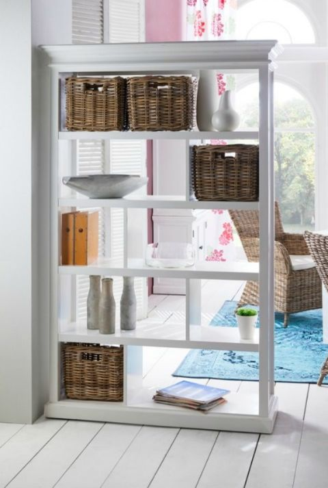 15 Creative Ways To Decorate With Things You Already Have Room Divider Bookcase Wooden Room Dividers Room Divider Shelves