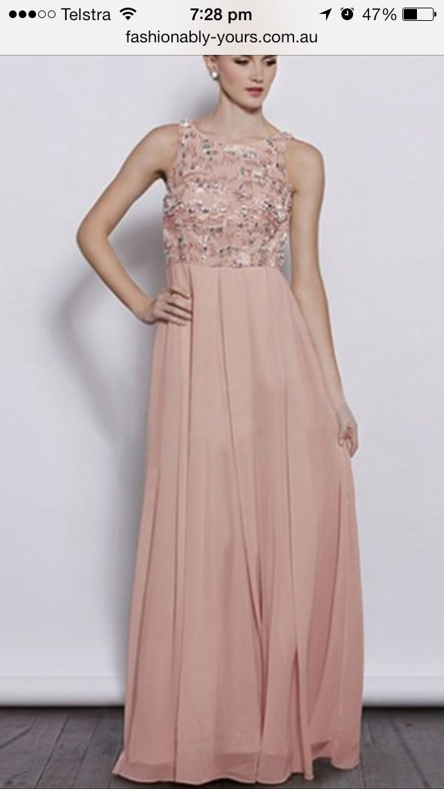 Dusty pink bridesmaid dress | Dusty Rose/Dusty Pink | Pinterest ...