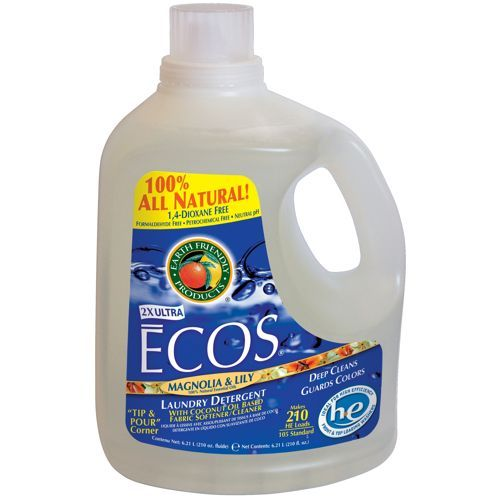 Ecos Magnolia And Lily Laundry Detergent 210 Fl Oz 2 Count