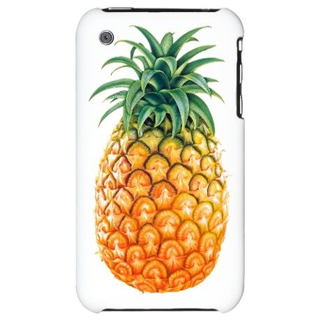 summers fruit pineapple iPhone Case on CafePress.com