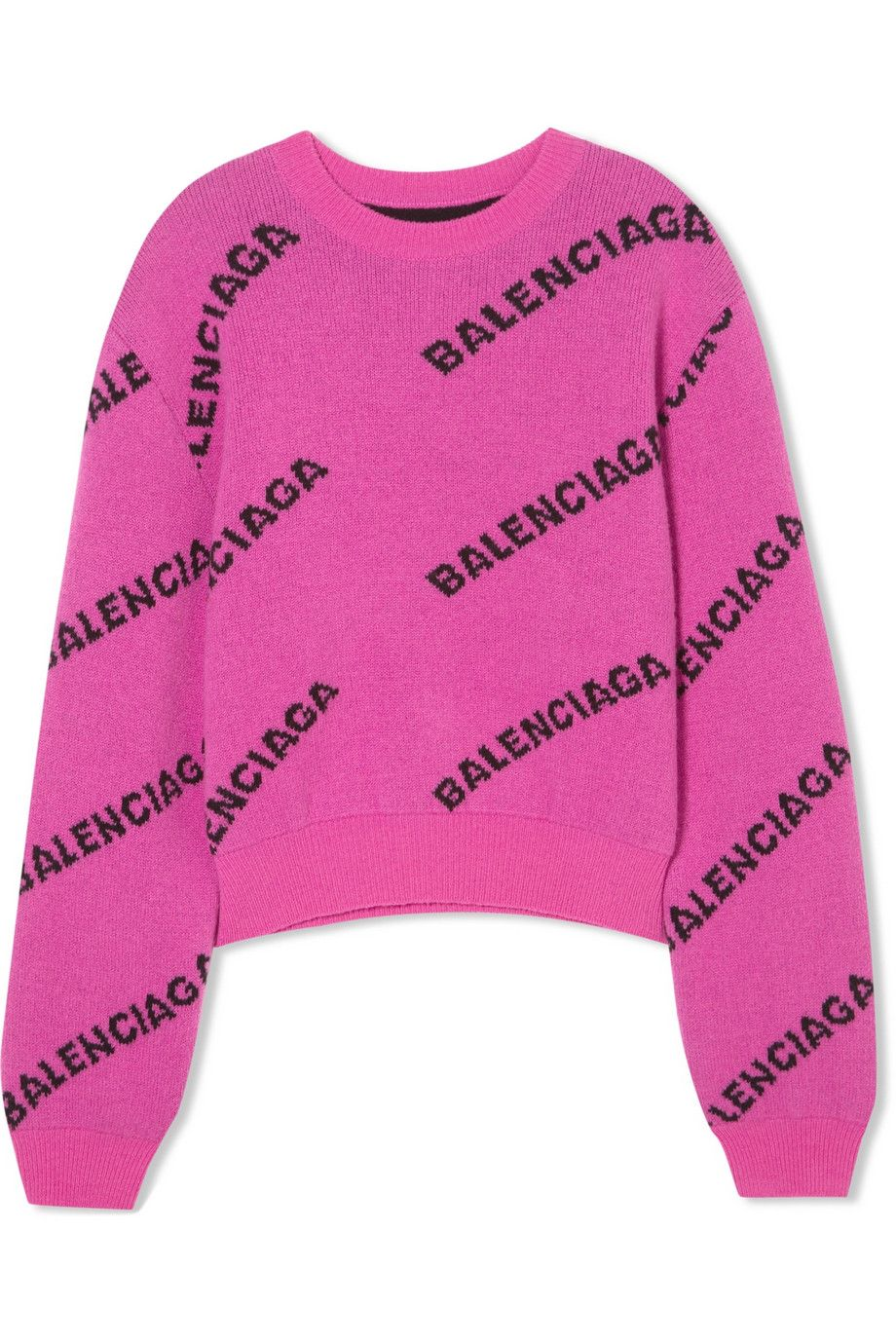 913a7454 Balenciaga Logo Sweaters | Clothes | Wool sweaters, Sweaters ...
