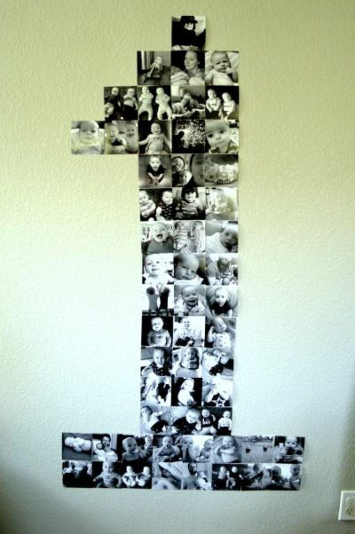▷ 1001+ Ideen für Fotowand - interessante Wandgestaltung #firstbirthdaygirl