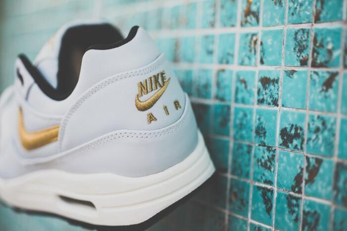 """Take a closer look at the Nike Air Max 1 Premium QS """"Gold Hypervenom ... 26d9836111"""