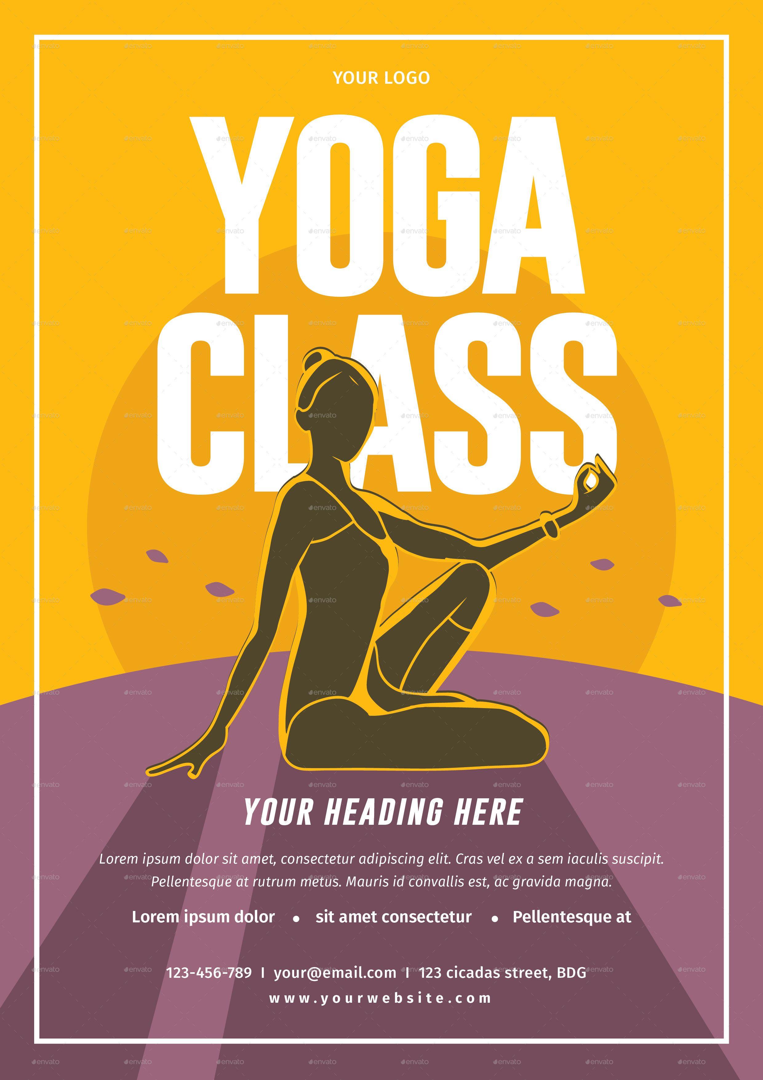 Rsultat De Recherche DImages Pour Yoga Flyer  Yoga