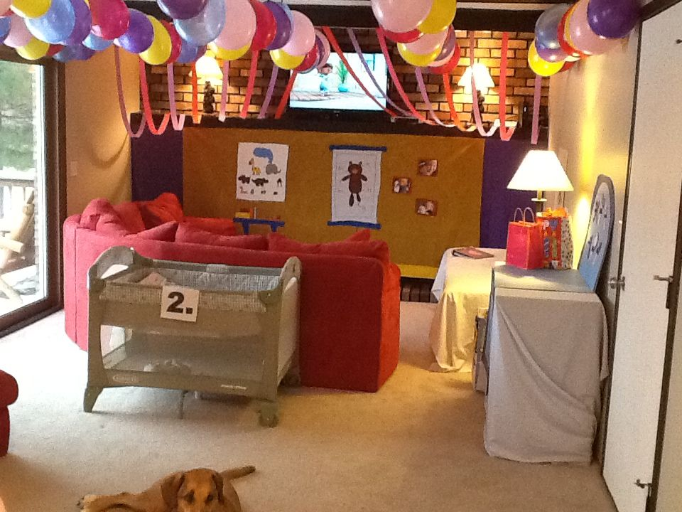 Check up Stations bad link - cute idea with the pack n play!