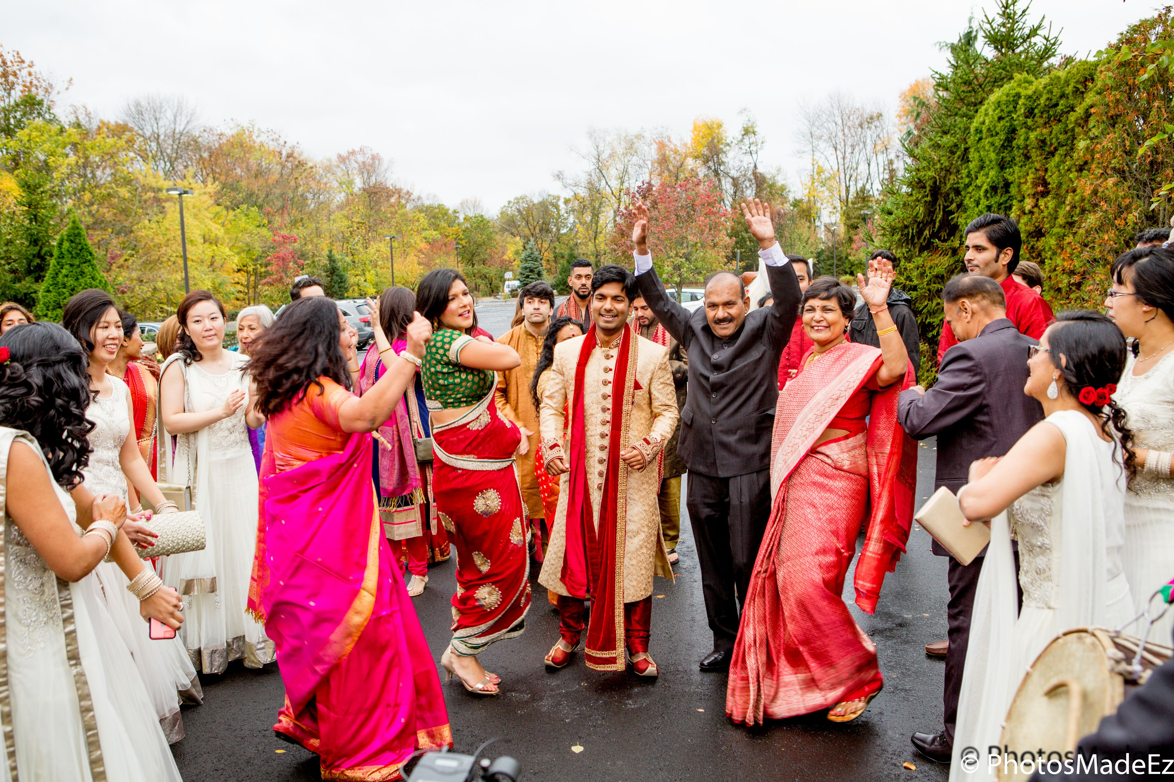 Baraat for Hindu Wedding at the Imperia in Somerset New Jersey